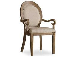Hooker Furniture Corsica Oval Back Light Wood Dining Arm Chair