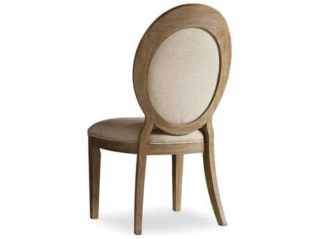 Hooker Furniture Corsica Oval Back Light Wood Dining Side Chair