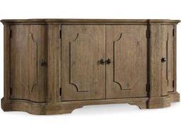 Hooker Furniture Corsica Light Wood 72''L x 21''W Demilune Credenza