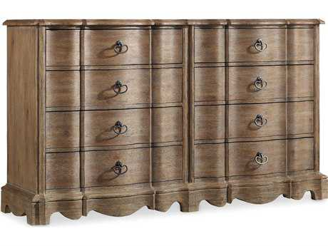 Hooker Furniture Corsica Light Wood Double Dresser