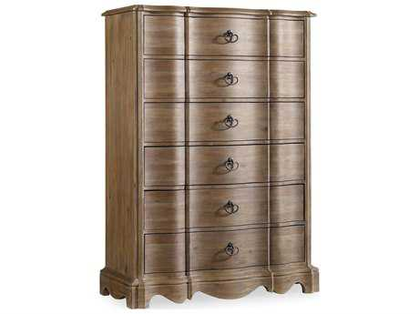Hooker Furniture Corsica Light Wood 42''W x 20''D Rectangular Chest of Drawers