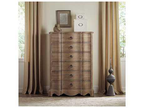 Hooker Furniture Corsica Light Wood 42''W x 20''D Rectangular Chest of Drawers