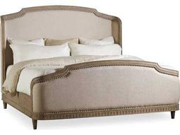 Hooker Furniture Corsica Light Wood Queen Size Shelter Panel Bed