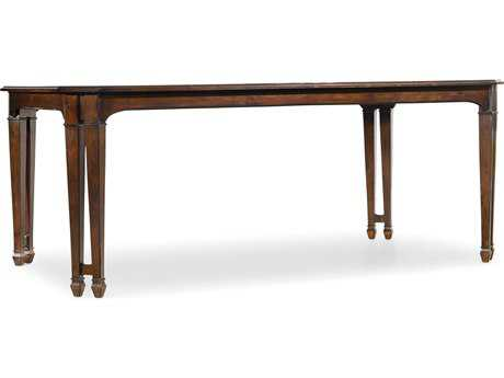 Hooker Furniture Palisade Dark Wood 76''L x 44''W Rectangular Dining Table