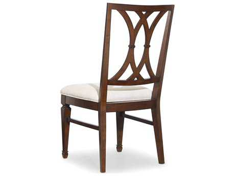 Hooker Furniture Palisade Splat Back Dark Wood Dining Side Chair