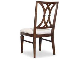 Hooker Furniture Palisade Splat Back Dark Wood Dining Side Chair