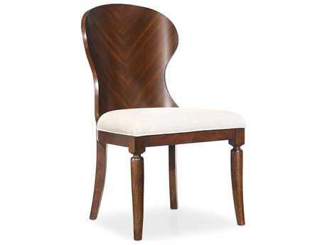 Hooker Furniture Palisade Wood Back Dark Wood Dining Side Chair