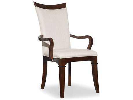 Hooker Furniture Palisade Dark Wood Dining Arm Chair