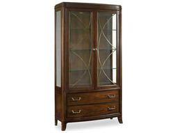 Hooker Furniture Palisade Dark Wood China Cabinets