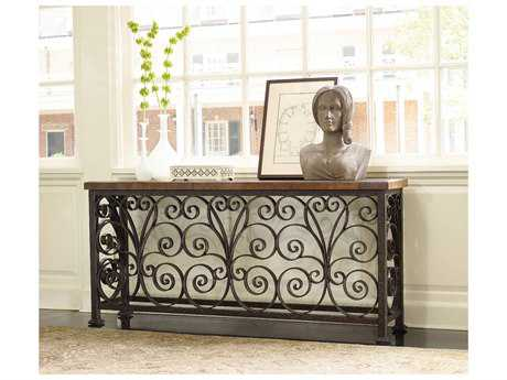 Hooker Furniture Dark Wood 70''L x 15''W Rectangular Console Table