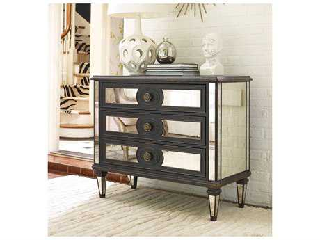 Hooker Furniture Black 42''W x 19''D Mirrored Accent Chest