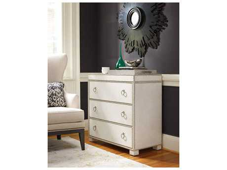 Hooker Furniture White, Cream & Beige 37''W x 18''D Accent Chest