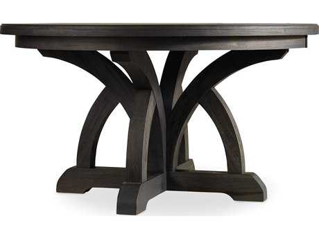 Hooker Furniture Corsica Dark Wood 54'' Wide Round Dining Table