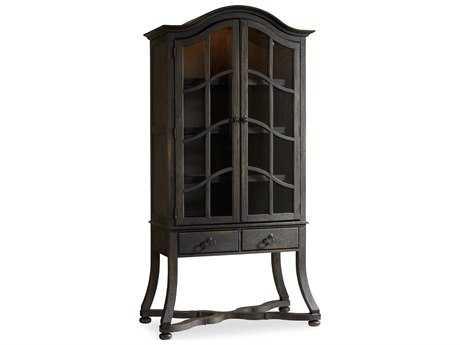Hooker Furniture Dark Wood China Cabinets