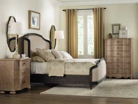 Hooker Furniture Corsica Upholstered Panel Bed Bedroom Set