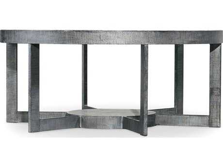 Hooker Furniture Mill Valley Gray 44'' Wide Round Cocktail Table