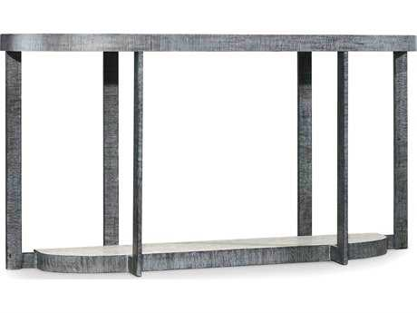 Hooker Furniture Mill Valley Gray 64''L x 16''W Demilune Console Table