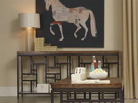 Hooker Furniture Socorro Medium Wood 72''L x 14''W Rectangular Console Table