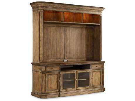 Hooker Furniture Solana Light Wood 86''L x 23''W Entertainment Center
