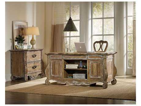 Hooker Furniture Chatelet Light Wood 64''L x 30''W Rectangular Executive Desk