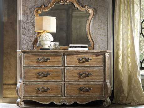 Hooker Furniture Chatelet Pecky Pecan Double Dresser