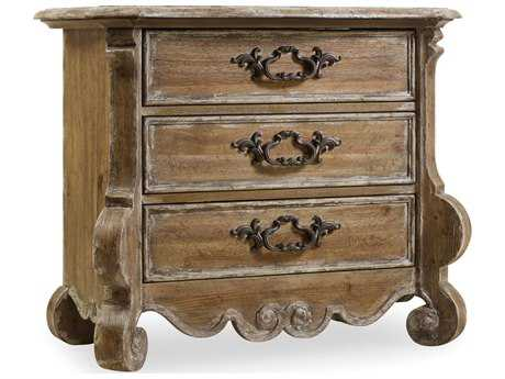 Hooker Furniture Chatelet Pecky Pecan 36''W x 19''D Rectangular Nightstand