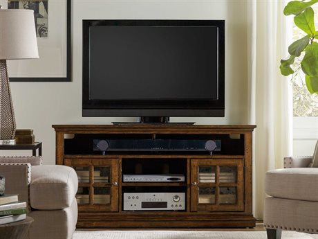 Hooker Furniture Brantley Dark Oak 56''L x 19''W Rectangular Entertainment Console