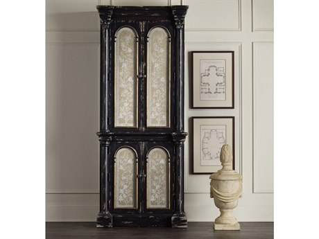 Hooker Furniture Black Decorative Storage Cabinet