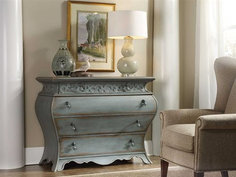 Hooker Furniture Blue 49''W x 23''D Bombay Accent Chest