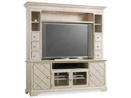 Hooker Furniture Sunset Point White, Cream & Beige 83''L x 21''W Entertainment Center