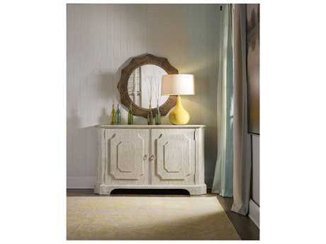 Hooker Furniture Sunset Point White, Cream & Beige 62''L x 20''W Rectangular Credenza