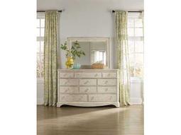 Hooker Furniture Sunset Point White, Cream & Beige Triple Dresser & Mirror Set
