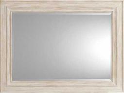 Hooker Furniture Sunset Point White, Cream & Beige 47.75''W x 36''H Rectangular Landscape Wall Mirror