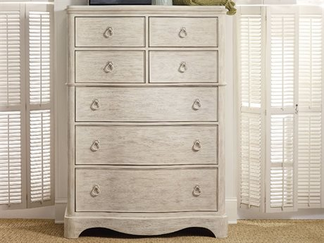 Hooker Furniture Sunset Point White, Cream & Beige 42''W x 20''D Rectangular Chest of Drawers
