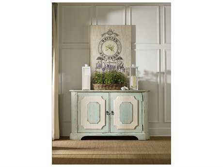Hooker Furniture Sunset Point St John Blue with Hatteras White 62''L x 20''W Rectangular Credenza