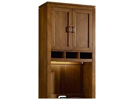 Hooker Furniture Viewpoint Medium Brown Wall Desk Hutch