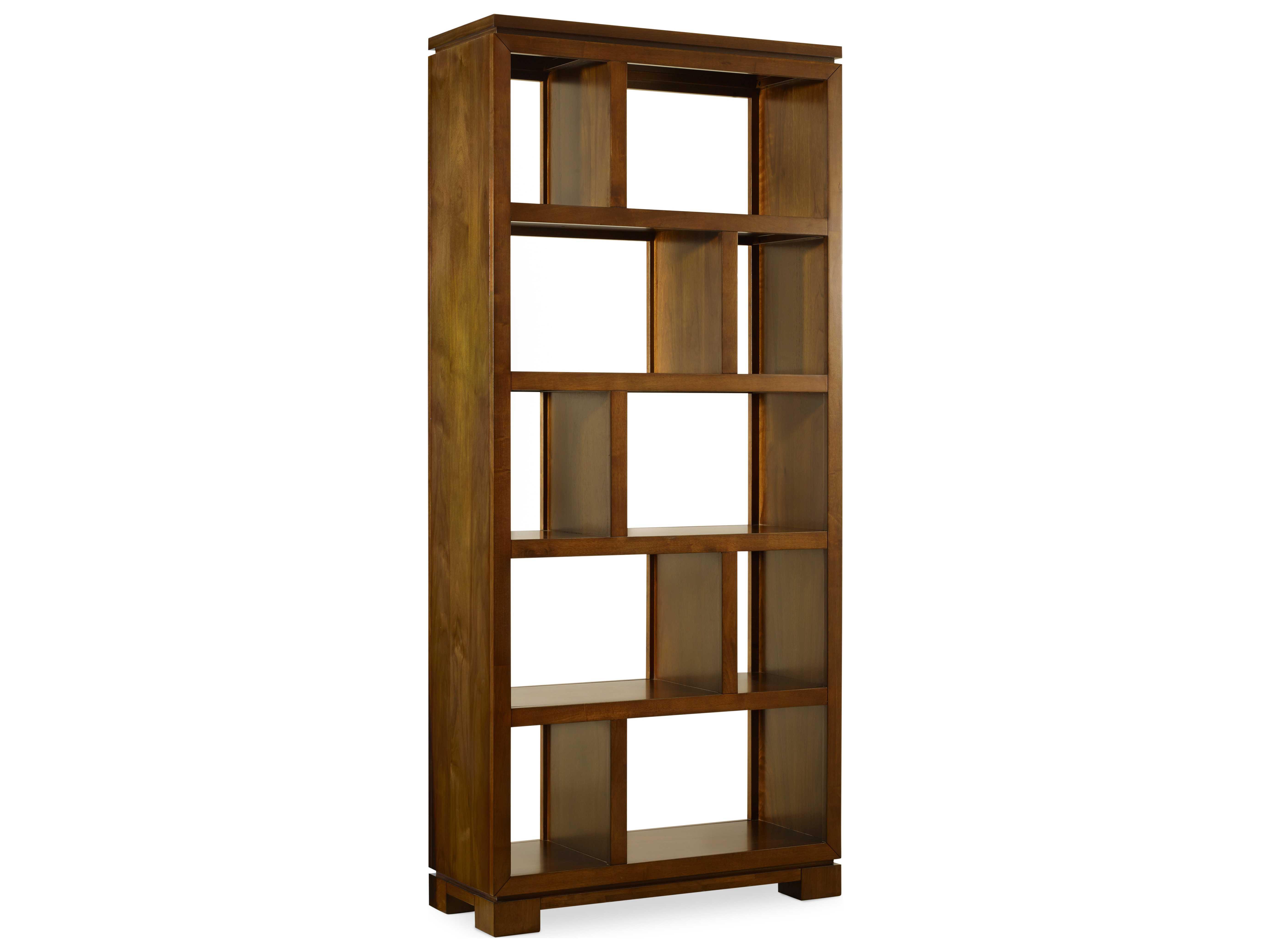 Hooker Furniture Viewpoint Medium Wood Bookcase Room