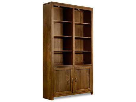 Hooker Furniture Viewpoint Medium Brown Wall Bookcase