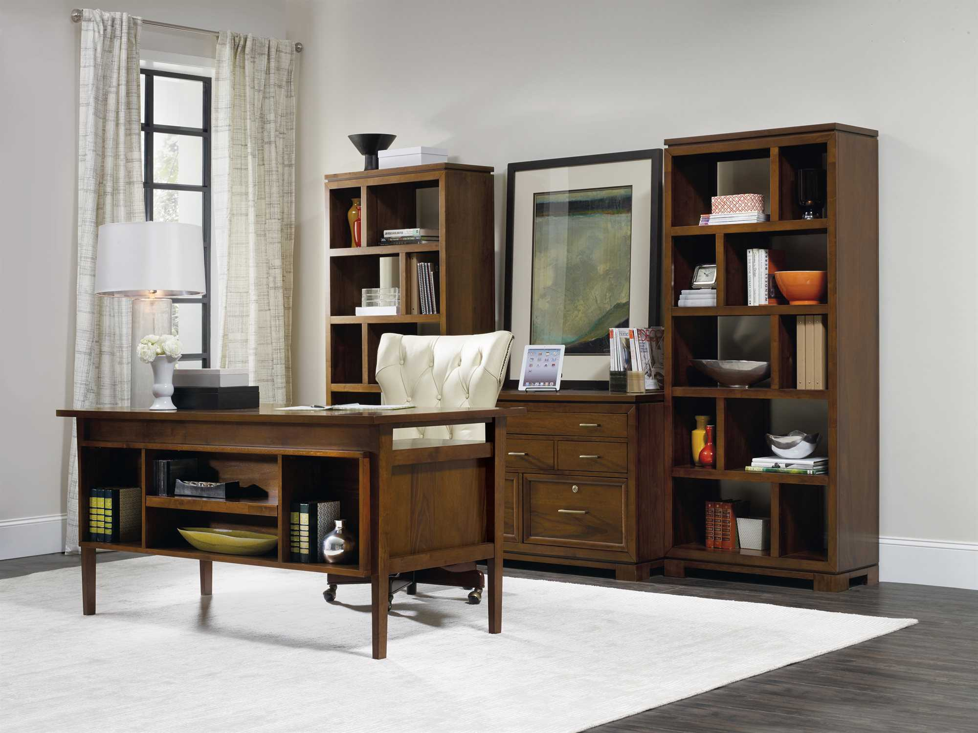 Hom Office Furniture: Hooker Furniture Viewpoint Home Office Set