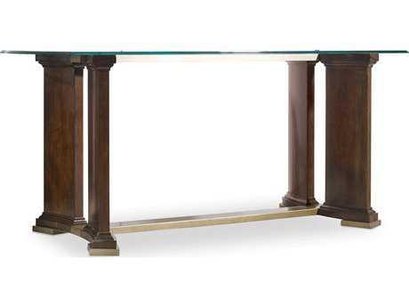 Hooker Furniture Skyline Dark Cathedral Cherry 66''L x 30''W Rectangular Writing Desk