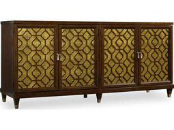Hooker Furniture Skyline Dark Cathedral Cherry 74.5''L x 20''W Rectangular Entertainment Console