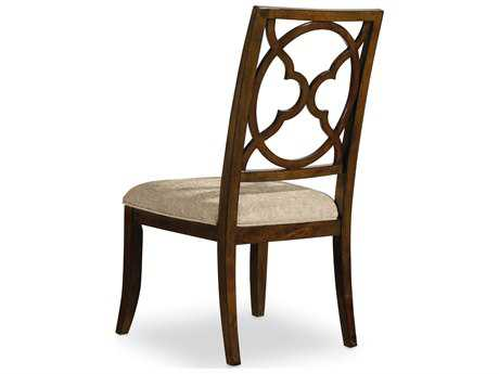 Hooker Furniture Skyline Fretback Dark Cathedral Cherry Dining Side Chair