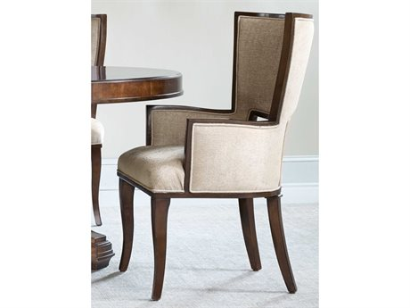 Hooker Furniture Skyline Dark Cathedral Cherry Dining Arm Chair