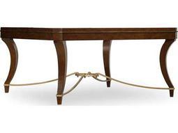 Hooker Furniture Skyline Dark Wood 40'' Wide Square Cocktail Table
