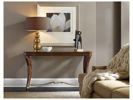Hooker Furniture Skyline Dark Wood 52''L x 18''W Rectangular Console Table