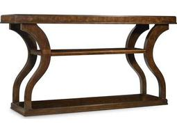 Hooker Furniture Skyline Dark Wood 65''L x 18''W Rectangular Accent Console Table