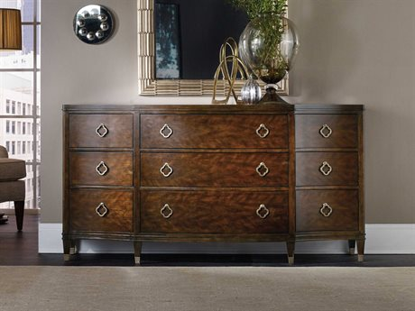 Hooker Furniture Skyline Dark Cathedral Cherry Triple Dresser