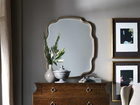 Hooker Furniture Skyline Champagne 34''W x 43''H Rectangular Portrait Wall Mirror