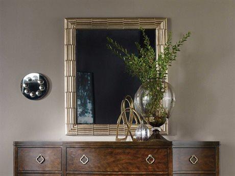 Hooker Furniture Skyline Champagne 37''W x 42''H Rectangular Texture Wall Mirror