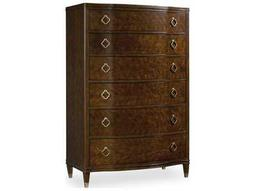 Hooker Furniture Skyline Dark Cathedral Cherry 40''W x 21''D Rectangular Chest of Drawers